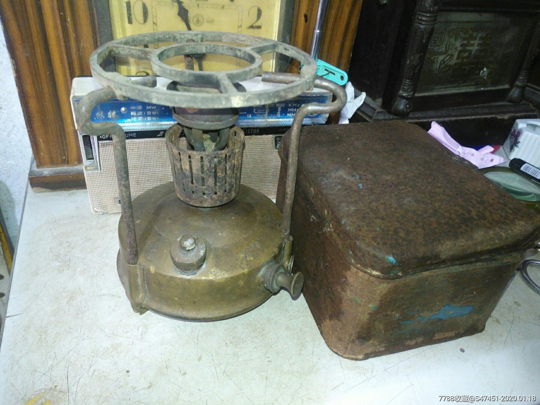 民初phoeb煤油�羰姐~打汽煤油�t12.5cm�цF盒,牢固但生�P(se70761926)_